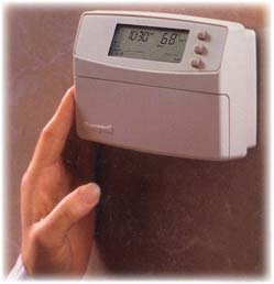 thermostats, heating/cooling system monitors